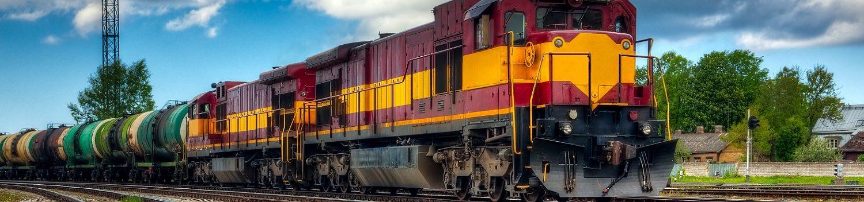 Gemini Transportation Long freight train